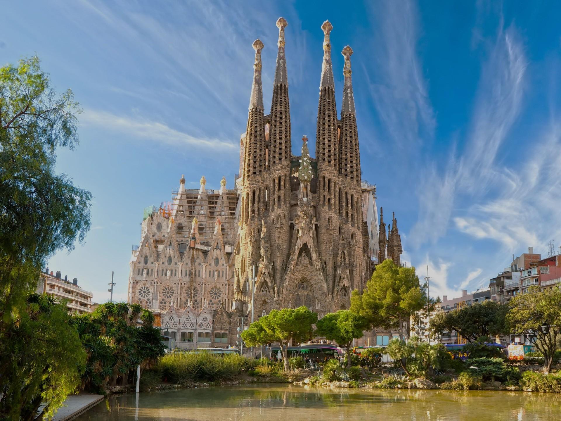 Barcelona la sagrada katedral
