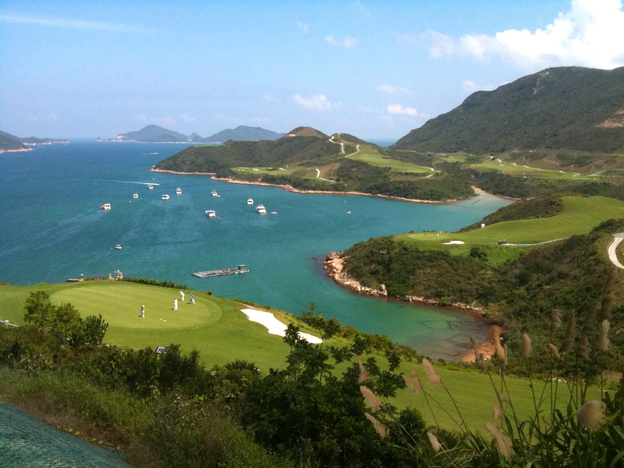 Kau Sai Chau golf hong kongs natur