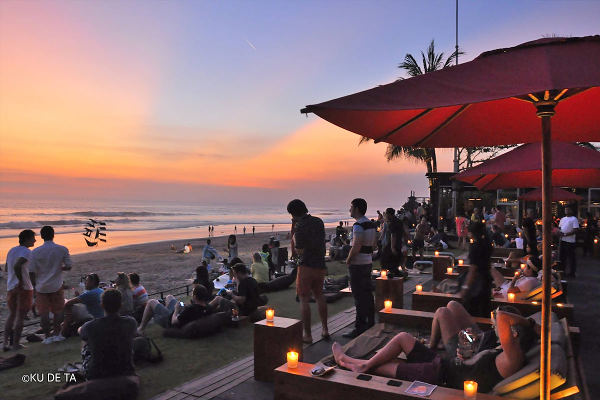 Ku De Ta, restaurant, bar and beach lounge