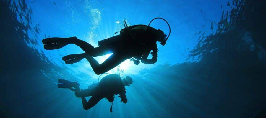 cypern diving