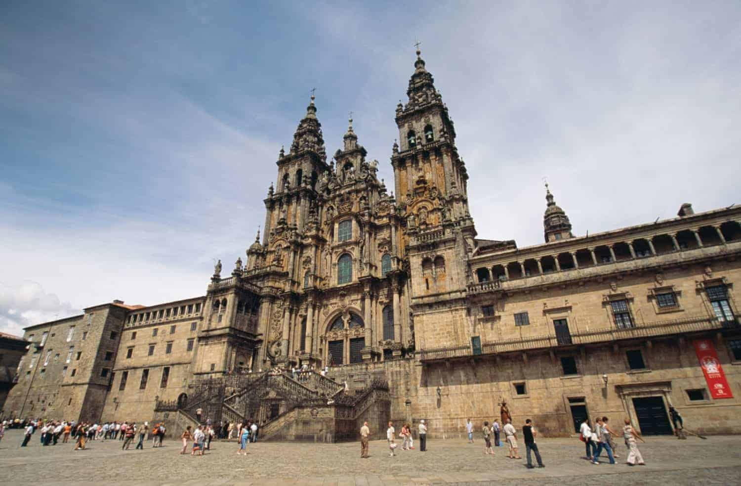The Cathedral in Santiago. Spain
